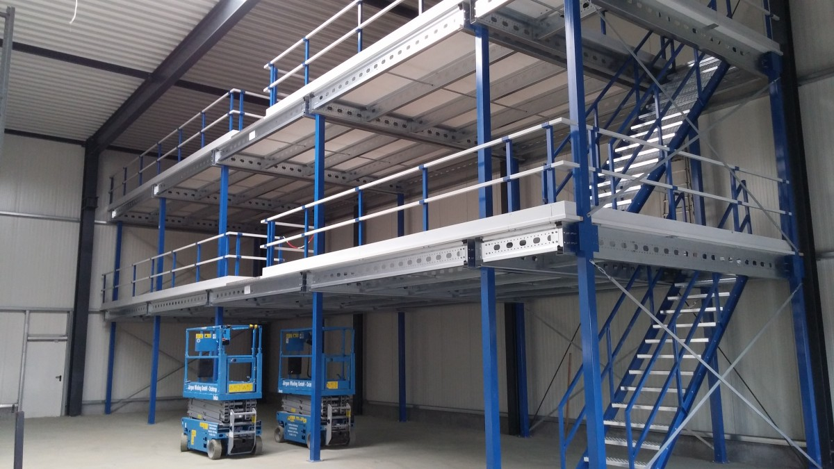 Entresol met meerdere etages